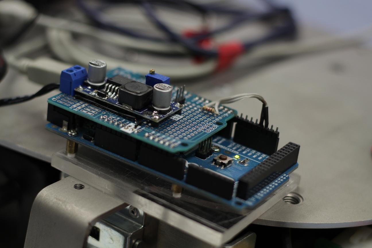 Arduino zur Gripperansteuerung